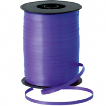 Purple Ribbon for Balloons (500m x 5mm)